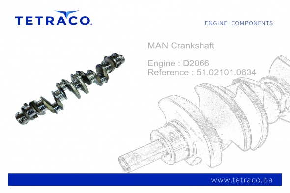 MAN Crankshaft 51.02101.0634